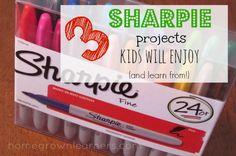 3 Sharpie Projects Kids Will Enjoy