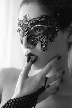Alyssa Miller, Eyes Wide Shut, Human Poses Reference, Touch Of Gray, Mask Girl, Lace Mask, Venetian Masks, Masquerade Party, Beautiful Mask