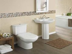 bathrooms with pedistal sinks | ... Pedestal Sink: Great Choice for Attractive Bathroom Design. Bathroom