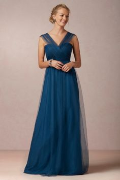 Annabelle by Jenny Yoo in Lapiz Blue - at BHLDN converts to 18 different styles