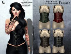 https://marketplace.secondlife.com/p/DE-Designs-Taya-Underbust-Corset-Fatpack/12109661