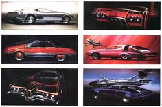 1969 Ford Styling Sketches by Homer LaGassey.jpg (1024×674)
