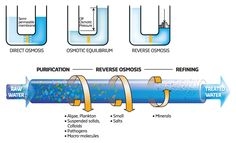 Physics And Chemistry Reverse Osmosis Or Ro Reverse Osmosis Osmosis Water