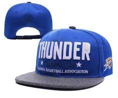 5fc45e0ad50 Mens Oklahoma City Thunder adidas National Basketball Association NBA Chain  Star Snapback Cap - Blue
