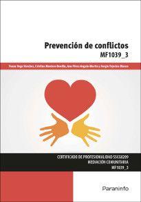 Portada del libro MF1039_3 - Prevención de conflictos