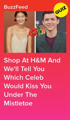 a542d0368f87 Shop At H M And We ll Tell You Which Celeb Would Kiss You Under The