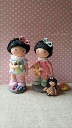 Sur Commande. Poupette Les Adorables. figurine miniature. : Accessoires de maison par au-jardin-d-eden-creations