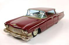 "1960 Cadillac 11.5"" Japanese Tin Car by Bandai NR"