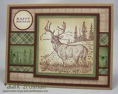 Noble Deer birthday by cookiestamper - Cards and Paper Crafts at Splitcoaststampers