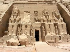 The Great Temple of Ramses II at Abu Simbel | Flickr - Photo Sharing!