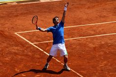 Andy Murray at French Open 2011