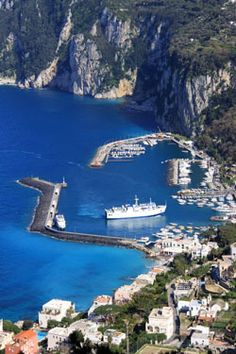 Situated on a terrace overlooking the magnificent Amalfi Coastline is charming Sorrento ~ a town and commune in Campania, southern Italy
