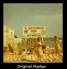 Original Southern Most Point Marker - Key West Key West Florida, Old Florida, Vintage Florida, Florida Travel, Florida Keys, South Florida, Fl Keys, Florida Gators, Florida Beaches