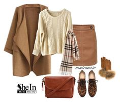 """""""Untitled #630"""" by mairanoir ❤ liked on Polyvore featuring FRR and Burberry"""