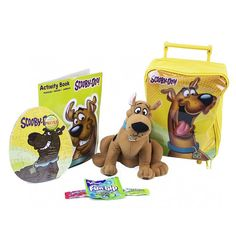 Scooby-Doo Rolling Backpack Easter Gift Set @ OrangeOnions.com
