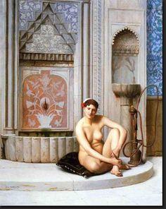 SOYOUTHINKYOUCANSEE: Jean Léon Gérôme (soyouthinkyoucansee tumblr-blog under Orientalisme,orient,oriental