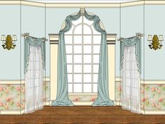 Arched Window Treatment Ideas Arched window treatments Arch and