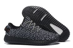 2af8d9072fe37 Adidas Women Men Yeezy Boost 350 Shoes Black White Nike Shoes For Sale