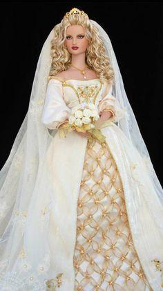 ~ Medieval Wedding Barbie Doll ~