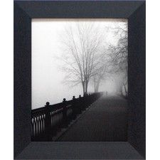 Promenade in the Mist Framed Photographic Print