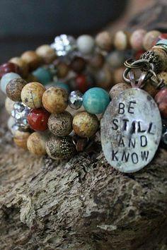 cinnamon creek dry goods | Be still and know BRACELET