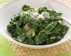 Creamed Silverbeet recipe from Food in a Minute