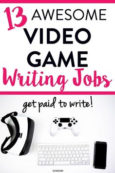 Want to be a freelance writer? Here are some video game writing jobs just for you! These freelance writing jobs are perfect if you are an avid gamer and like to play video games! Make money blogging and make money writing about video gaming! #freelance #freelancewriting #writing #workfromhome #jobs #locationindependent #makemoneyathome #makemoneyonline #sidehustle #workfromhomejobs #workathome #onlinejobs #sidehustles #extracashideas #WAHMs #SAHMs #Moms #career #customerservice Make Money Writing, Make Money Blogging, Writing Tips, Make Money Online, How To Make Money, Online Writing Jobs, Freelance Writing Jobs, Business Motivation, Business Tips