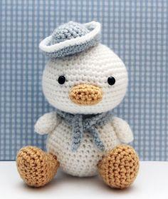 Lil Quack the duck-- Little Muggles via zoomigurumi
