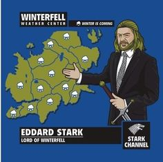 Game of Thrones weather forecast