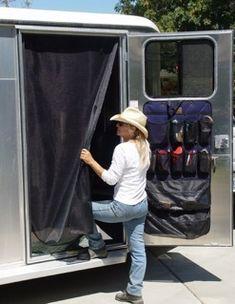 screen door for tack room-keep flies out!