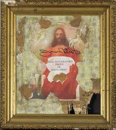 Greg Haberny-Real autographed portrait of Jesus Christ