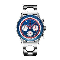 Worldwide Watches Magazine Breitling Navitimer, Breitling Watches, Pan Am, Mesh Bracelet, Bracelet Cuir, Stainless Steel Mesh, Stainless Steel Bracelet, Vintage Rolex, Swiss Watch