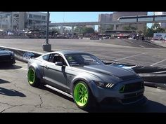 2015 #Ford #Mustang RTR and 2015 Ford Mustang Drifting at #SEMA