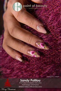 Nail art - Point of beauty Nail Art, Nails, Beauty, Finger Nails, Ongles, Nail Arts, Beauty Illustration, Nail Art Designs, Nail