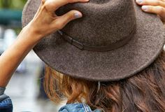 THE FELTED FEDORA #fallstyle