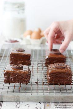 La tana del coniglio: Soldini al cioccolato fondente e lamponi
