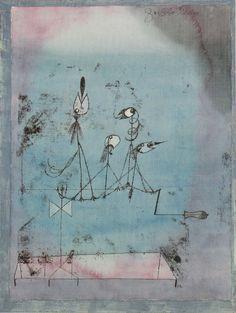 Paul Klee - Die Zwitschermaschine