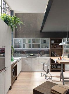 sand, industrial edition. atmosfere e stili complementari si ... - Cucina Febal Light La Qualita Accessibile