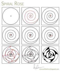 Spiral Rose - PATTERN & VIDEO