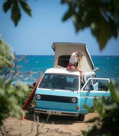 VW T3 beach