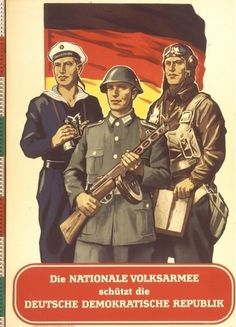 DDR (East Germany), Nationale Volksarmee - NVA (National People's Army)