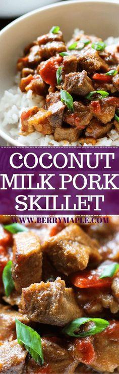 coconut milk pork sk