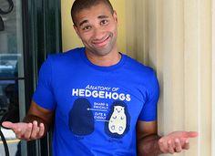 Anatomy Of Hedgehogs T-Shirt - Cute T-Shirt
