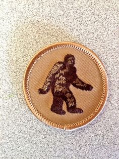 @PatchtownUSA thanks 4 the sweet Big Foot patch!