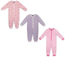 GIRLS SLEEPSUIT MINI V BABY GIRLS NOVELTY FUN ALL IN ONE EX UK STORE 9M-5Y NEW