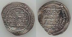 Umayyad of Spain Silver Dirham 196 AH 812 AD Al-Hakam I Al-Andalus Mint