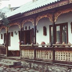 I will photograph Romanian vernacular architecture for Vernacular Architecture, Architecture Old, Wooden Terrace, Balcony Garden, Traditional House, Porch, Sweet Home, Stairs, Exterior