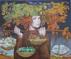 Four Seasons - art by Catherine Alexandre