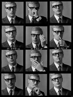 Michael Caine photographed by Brian Duffy, c. 1965. #IpcressFile