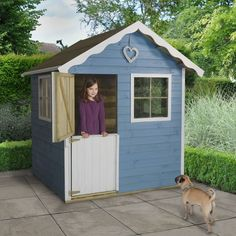 The Forest Frankie Traditional Kids Wooden Playhouse offers extra value for money with it's extra height. Visit Shedstore for our fantastic range of playhouses and more information. Kids Wooden Playhouse, Playhouse With Slide, Childrens Playhouse, Playhouse Outdoor, Sheds Direct, Buy Shed, Wendy House, Garden Buildings, Play Houses